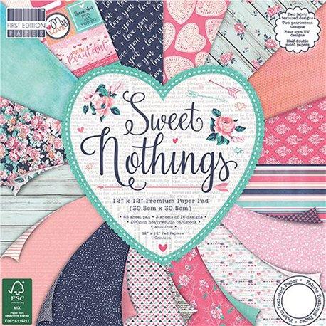 Papier scrapbooking assortiment sweet nothing 48fe