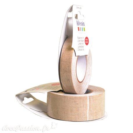 Masking tape ruban tissu lin adhésif fabric tape 5m