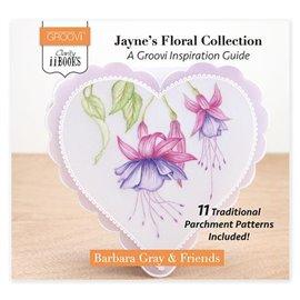 Livre Groovi inspiration Jayne's Floral Collecion par Barabra Gray