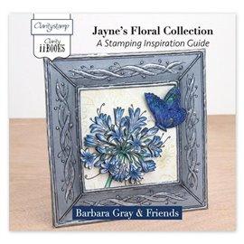 Livre Stamping inspiration Jayne's Floral Collection par Barbara Gray