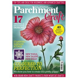 Parchment Craft magazine Pergamano aout 2017 Coloured to Perfection