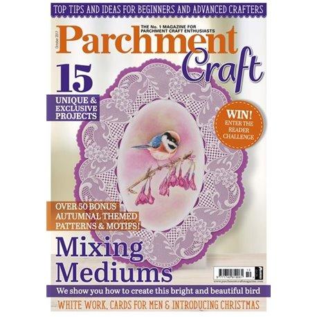 Parchment Craft magazine Pergamano octobre 2017