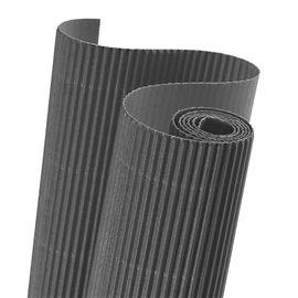 Papier carton ondulé couleur gris anthracite
