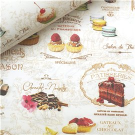 Papier italien motifs sweet laduree