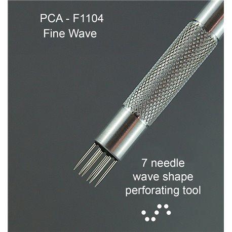 PCA outil perforation forme de s petit pointes fines