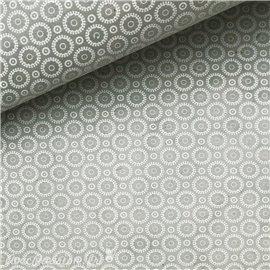 Papier népalais lokta retro gris et blanc
