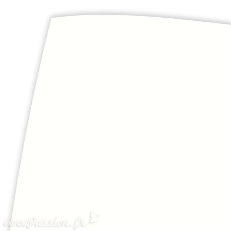 Papier uni tela blanc nature