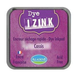 Encreur tampon Aladine Dye Izink séchage rapide cassis