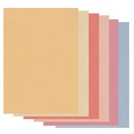Papier parchemin Groovi assortiment tons doux 40405 20 feuilles