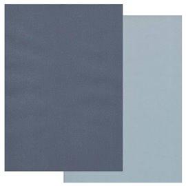 Papier parchemin Groovi assortiment 2 tons bleu nuit bleu ciel 40775 10 feuilles