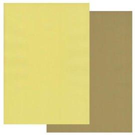 Papier parchemin Groovi assortiment 2 tons vert olive anis 40771 10 feuilles