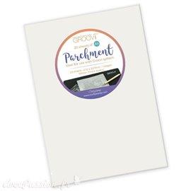 Groovi papier parchemin blanc regular A4 20fe 40024