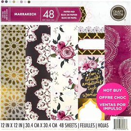 Papier scrapbooking assortiment marrakech 48fe