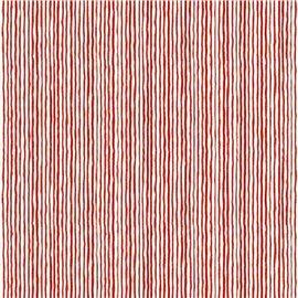 Papier tassotti à motifs rayures rouge