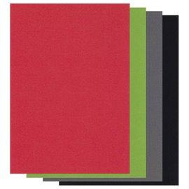 Papier parchemin Groovi assortiment noel A5 20 feuilles 40361