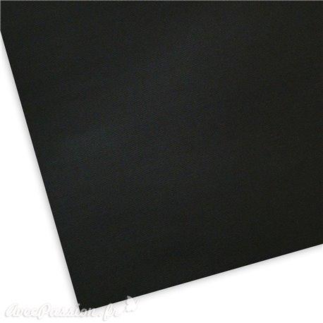 Papier uni picot noir