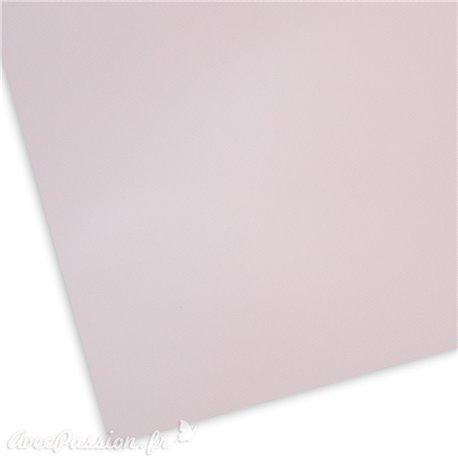 Papier uni texturé picot rose pastel