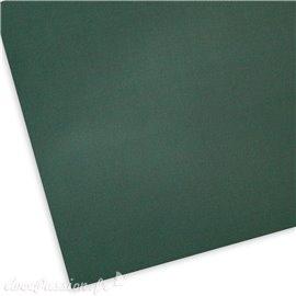 Papier uni texturé picot vert