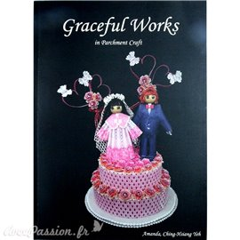 Livre Pergamano Graceful Works Parchment Craft Amanda Yeh