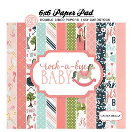 Papier scrapbooking assortiment rock a bye baby 24fe