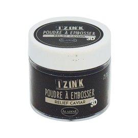 Poudre à embosser Aladine izink 25 ml caviar