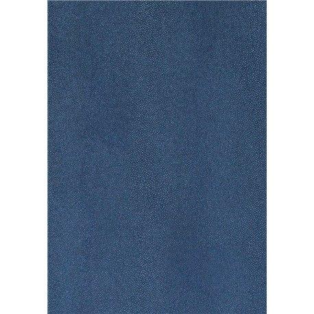 Papier simili cuir stingray bleu 70x106cm