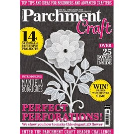 Parchment Craft magazine Pergamano février 2018 perfect perforations
