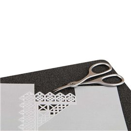 Groovi tapis de coupe A4 noir 40625