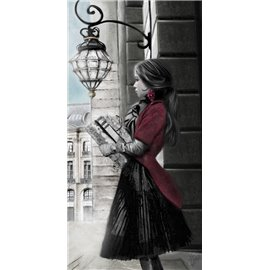 Carte d'art Valie Le Boeuf Place Vendôme le Ritz