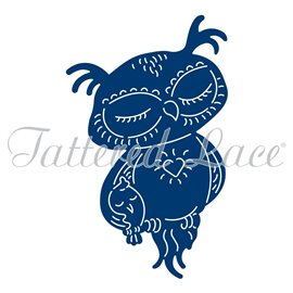 Dies découpe gaufrage chouette rowlph tattered lace
