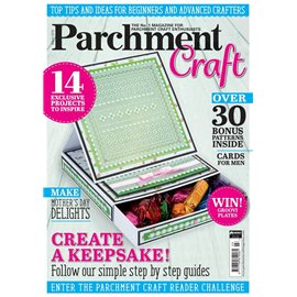 Parchment Craft magazine Pergamano mars 2018 Create a Keepsake