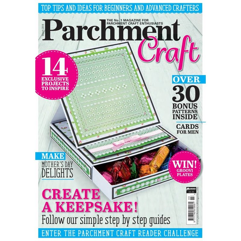 create and craft parchment craft magazine pergamano mars 2018 create a keepsake 1803