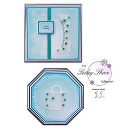 Patrons Lesley Shore modèle sac et bottine Pergamano pattern 11