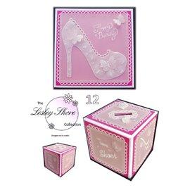 Patrons Lesley Shore modèle sac et bottine Pergamano pattern 12