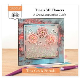 Livre Groovi inspiration 3D Flowers de Tina Cox