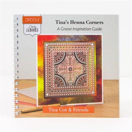 Livre Groovi inspiration Henna Corners de Tina Cox