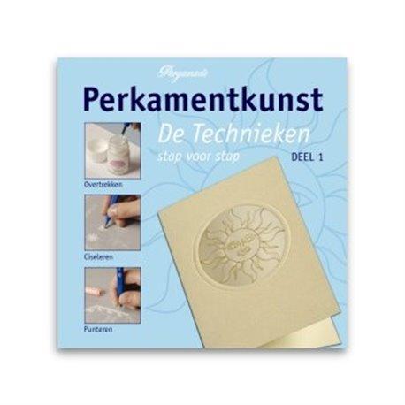 Livre Pergamano apprentissage les techniques 1