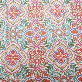 Papier italien motifs bohème