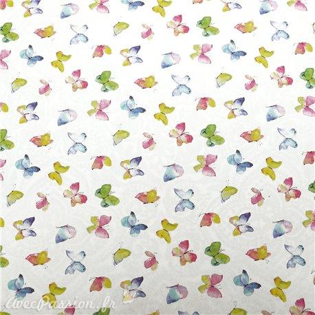 Papier italien motifs papillon