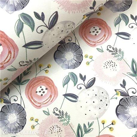Papier italien motifs finland fleurs