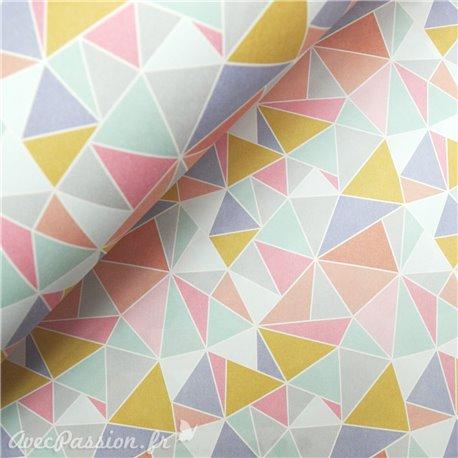 Papier italien motifs crystal