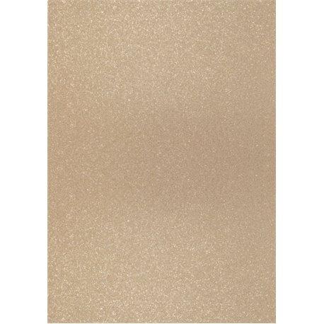 Papier pour carte et faire part sable strassé x2 200g