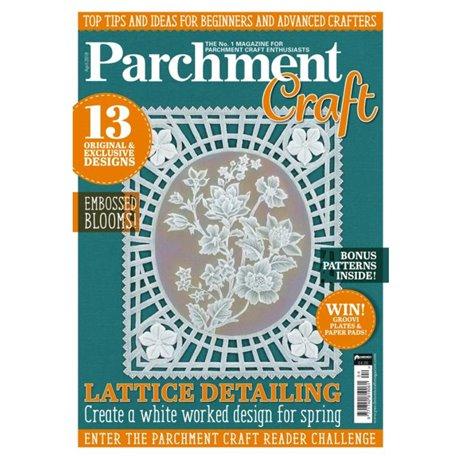 Parchment Craft magazine Pergamano avril 2018 Lattice Detailing