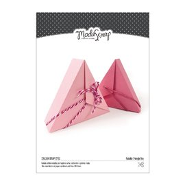 Dies découpe ModaScrap boîte triangle 1p