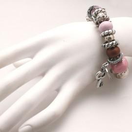 bracelet-fantaisie-reve-ceramique-rose-bijou-createur-perigrine-ref-u0498
