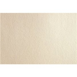 Papier uni ingres vergé blanc ficelle