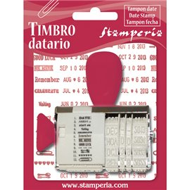 Tampon date changeable 1p