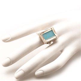 bague-fantaisie-reglable-rectangle-vitrail-bleu-bijou-createur-z-ref-u0522