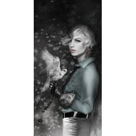 Carte d'art Valie Le Boeuf Diane