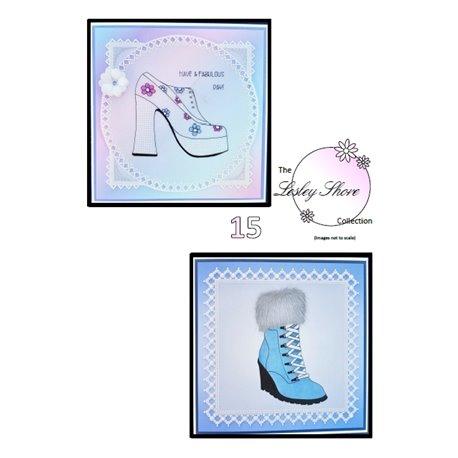 Patrons Lesley Shore chaussure et botillon Pergamano pattern 15